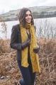 ROWAN Around Holme - Kitson Scarf - Cashmere Tweed