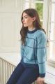 ROWAN - Seasonal Palette by Dee Hardwicke - Winter Blue Night Sky Sweater