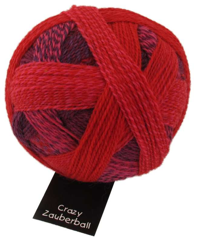 Crazy Zauberball - 2095 indisch Rosa
