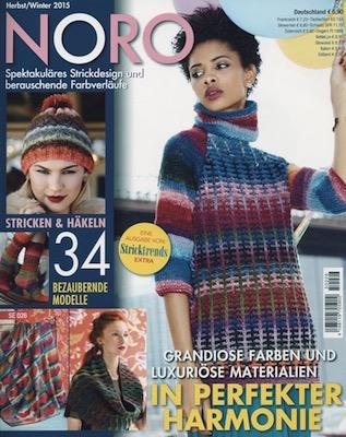 NORO Magazin HW2015 - Shiraito