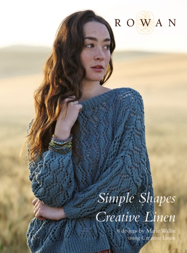 Simple Shapes - Creative Linen - Yarrow