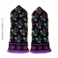 Garnpackung Handschuhe - Winter Flowers 4