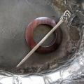 JUL - Celtic Knot Shawl Pin