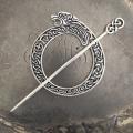 JUL - Celtic Lion Shawl Pin