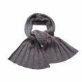 Garnpackung - Schal mit beidseitigen Zöpfen