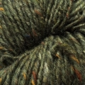 Isager Aran Tweed - Green