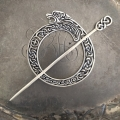JUL - Celtic Lion Shawl Pin
