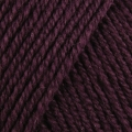 Wool Cotton 4ply - 506 Prune