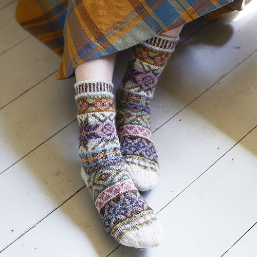 Gentle - Lupin Socks